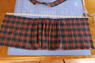 DIY Childs Kilt step by step