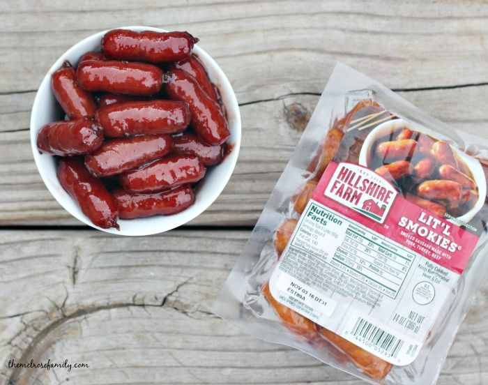 In need a quick and easy game day appetizer? These Strawberry Jalapeño Lit'l Smokies come together in ten minutes and are bursting with flavor.