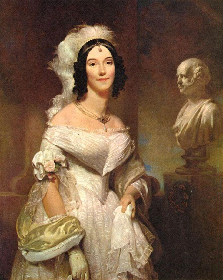 1842 Angelica Singleton Van Buren