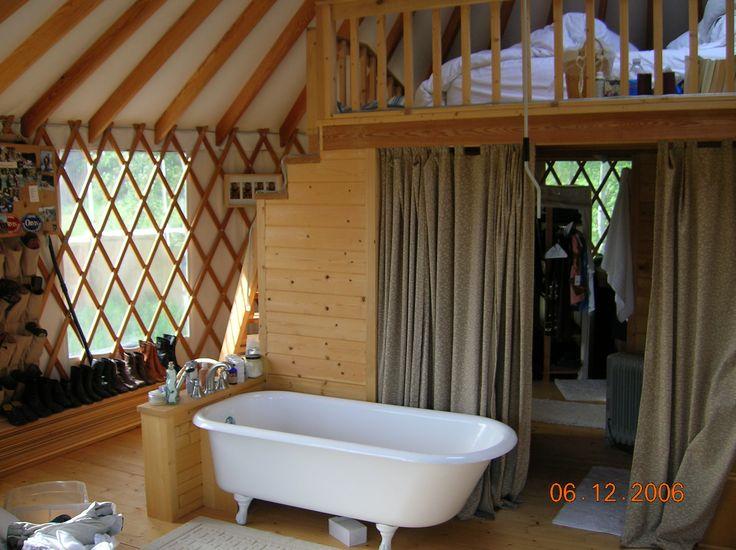 Bathroom Yurt 45 best yurts images on pinterest | country living, yurts and yurt