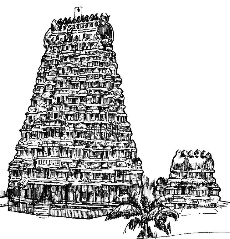 lots of coloring pages of indian monuments