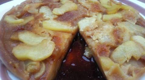 Tarta de manzana al microondas dedicada a mi amiga carmennoa