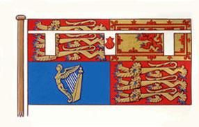 The Duke of Cambridge has his own standard, which derives from his Coat of Arms.