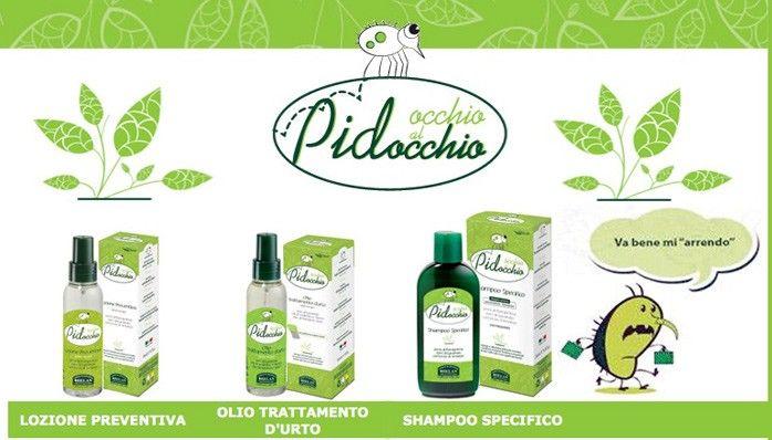 Shampoo e lozioni naturali anti pidocchi