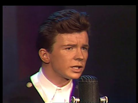 Rick Astley             Never Gonna Give You Up  GREAT BEAT, LOVE THIS SONG!  -  Pinned 2-5-2016.