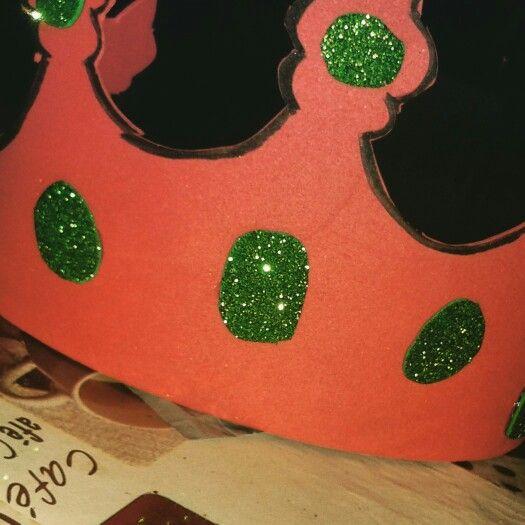 Corona de rey para carnaval.