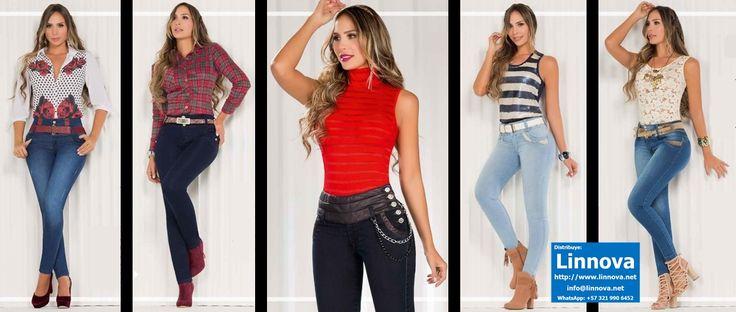 AA0343 - Jeans & Blusas WhatsApp: +57 3219906452