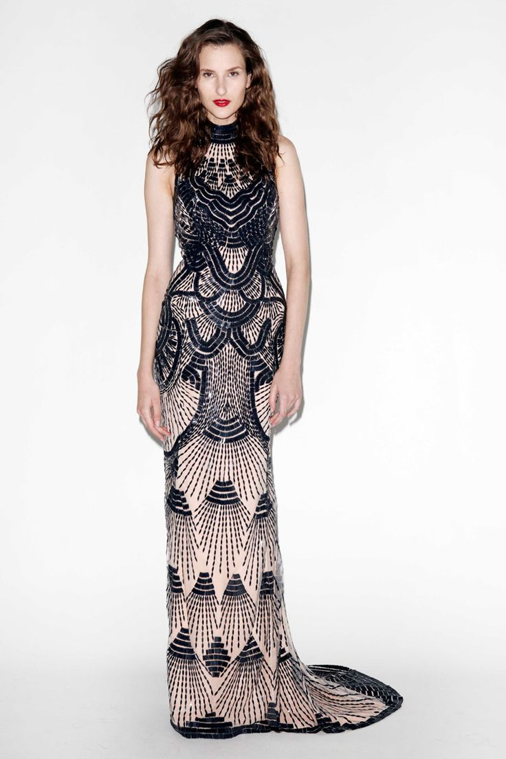 this would make a gorgeous reception dress for a Gatsby style wedding | L'Wren Scott, Spring 2013