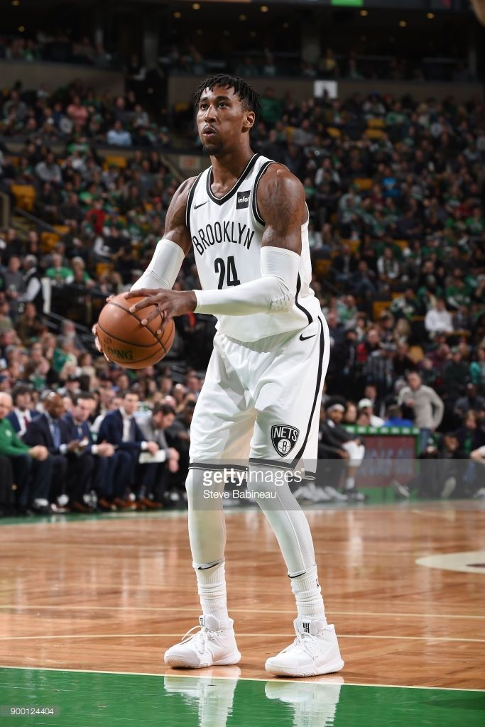 f1e9c868dca98 News Photo : Rondae Hollis-Jefferson of the Brooklyn Nets... | NBA  2017-2018 | Basketball court, Brooklyn nets, Basketball