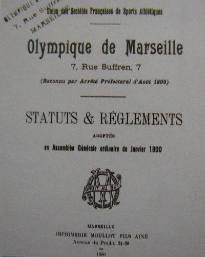 Olympique de Marseille et son histoire