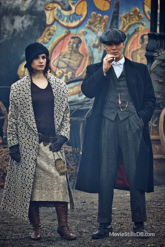 "peaky blinders | Peaky Blinders"" publicity still of Cillian Murphy & Charlotte Riley"