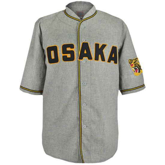 Authentic 1950 Away Jersey for the Osaka (soon to be Hanshin) Tigers ... $195.