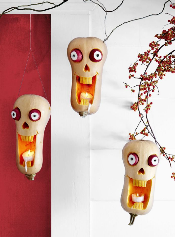 Haunter Pumpkin Carving Ideas 2020 Suspend a trio of these haunted heads from the front porch. First