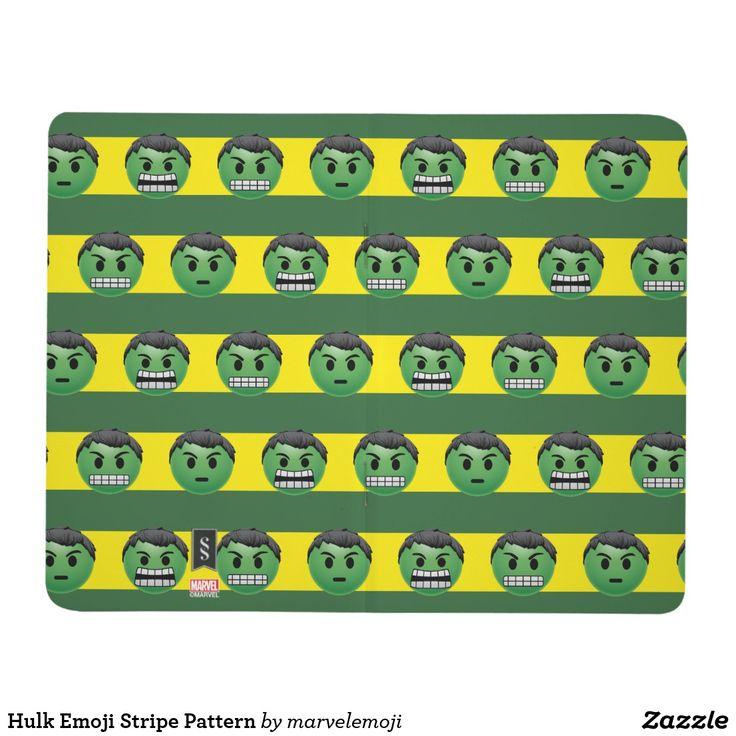 Hulk Emoji Stripe Pattern