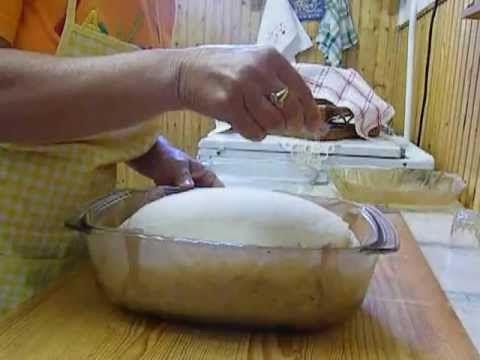 Így sütöm a kenyeret. Formázás, mintázás.