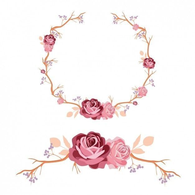 Imagens 2 Encerrado Flores Arabescos Para Convites Monograma Casamento Arabesco Floral