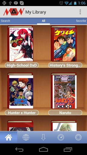 Manga Watcher v0.6.8 apk  Requirements: Android OS 1.5 +  Overview: The Best Manga Reader for Android