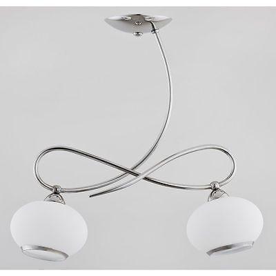 Modern Hanging Pendant Lamp Light Chandelier 2x40W E14 PROTA
