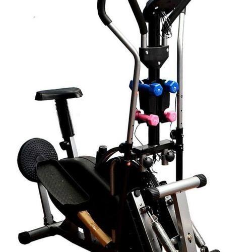 BICICLETA ELIPTICA CON MANCUERNAS - ESCALADORA -TWISTER. Es la nueva manera más fácil y divertida de moldear la parte media del cuerpo, reafirma los músculos y luce un cuerpo escultural. Le ofrece ejercicio fácil pero con resultados garantizados. Es divertido y tiene el diseño más avanzado para fortalecer todo su cuerpo y adelgazar con su uso. Ejercita todos los grupos de músculos en su cuerpo, mientras realiza una rutina normal de ejercicio, le ayuda a perder peso y estar en forma.