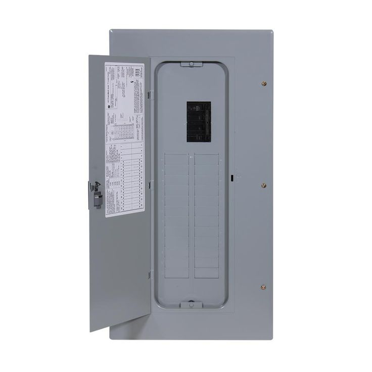 Ge Powermark Gold 150 Amp 24 Space 42 Circuit Indoor Main Breaker Circuit Breaker Panel Locker Storage Home Depot Storage