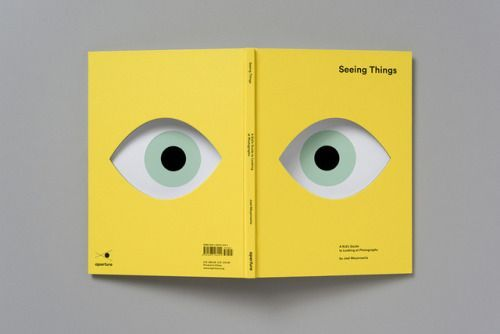 """Seeing Things Book Design by Atelier Dyakova""""Aimed at children..."""