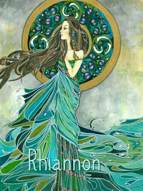 """Rhiannon is one of the Celtic mythology`s most beloved goddesses, with a name meaning """"Great Queen,"""" and she was recognized as the goddess of the moon, inspiration, songbirds, and horses."""