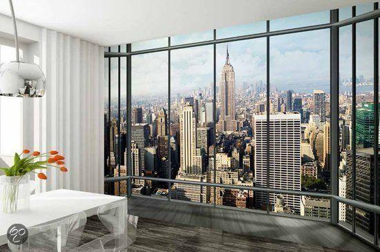 bol.com | Fotobehang Wallpaper Behang New York | Klussen