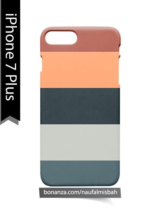 Line Colour Stripe iPhone 7 PLUS Case Cover Wrap Around