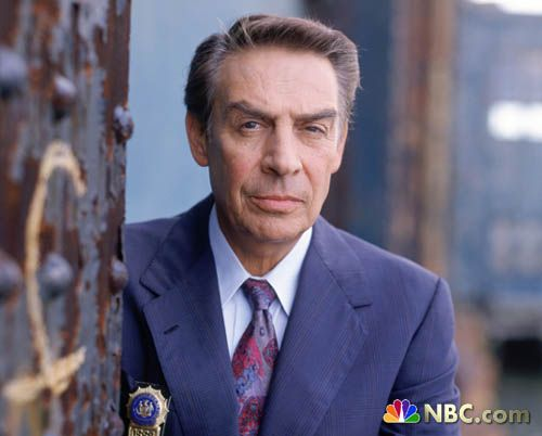 Jerry Orbach as Detective Lennie Briscoe, on Law and Order