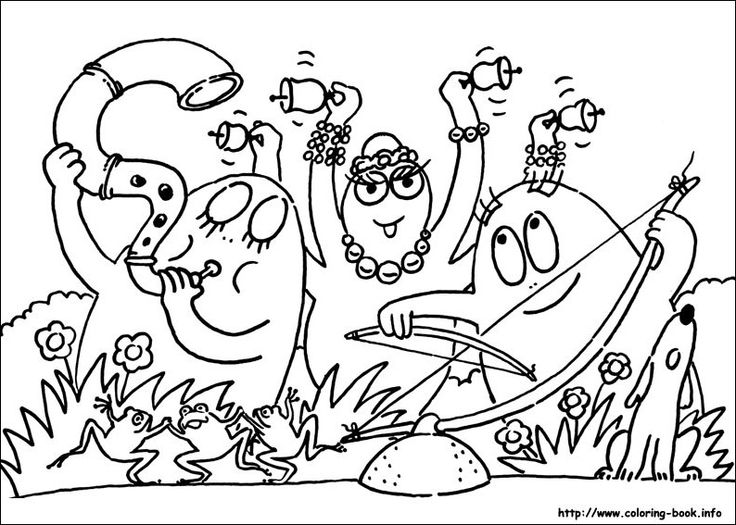 11 best Barbapapa Pics images on Pinterest | Colouring pages ...