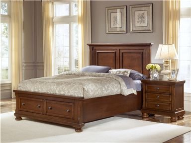 Shop For The Vaughan Bassett Reflections King Storage Bed With Mansion  Headboard At Sheelyu0027s Furniture U0026 Appliance   Your Ohio, Youngstown,  Cleveland, ...