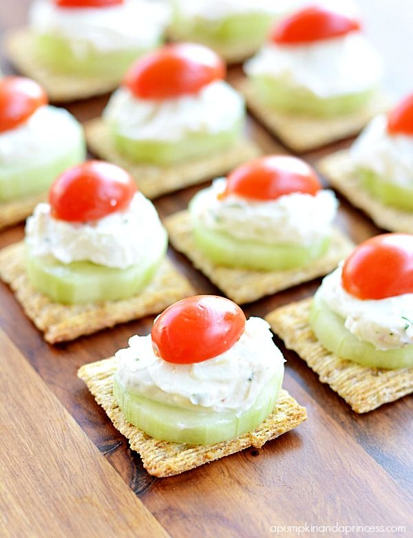 47 best images about tasty triscuit on pinterest cream for Italian canape ideas