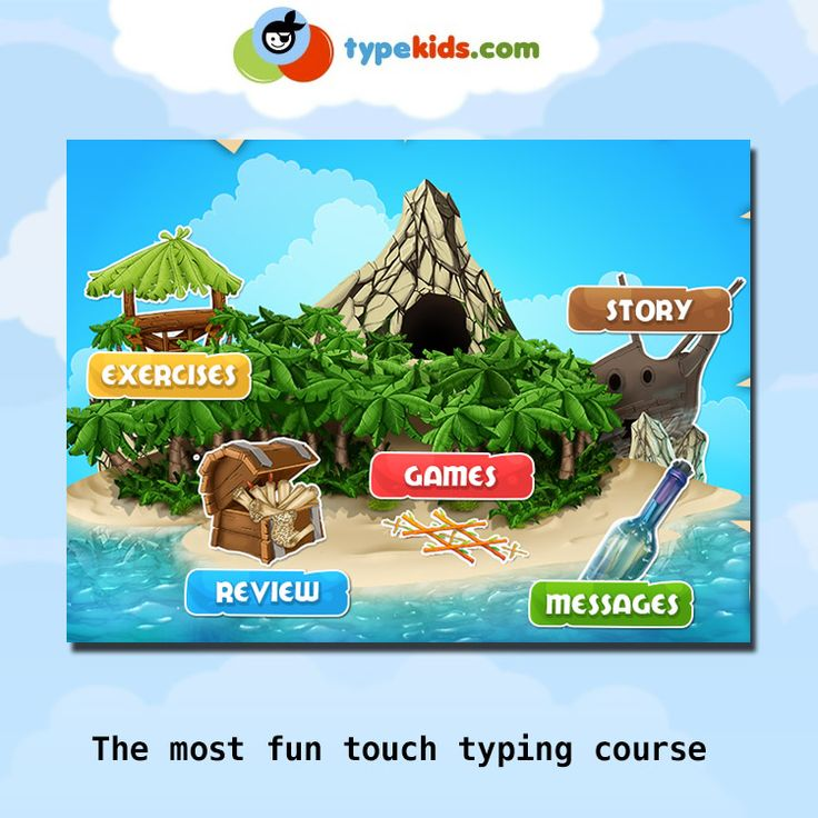 The most fun touch typing course Educational game #HomeEducation #HomeSchool