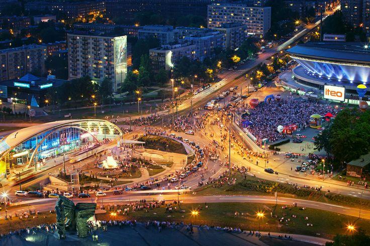 #Katowice #Spodek #Arena #city #center #silesia