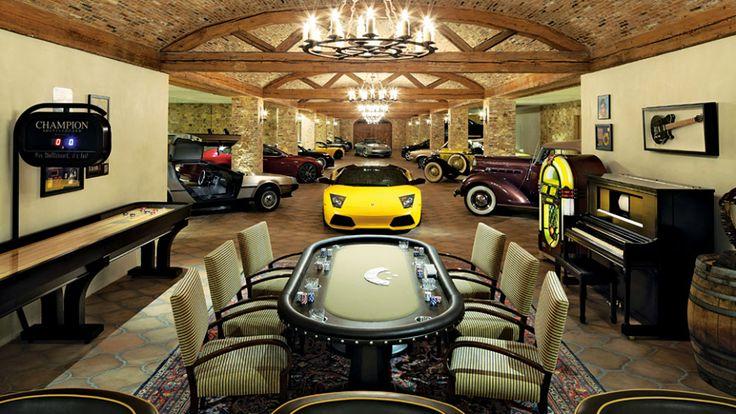 Underground Garage Man Cave : Luxurious and lavish garages man caves pinterest