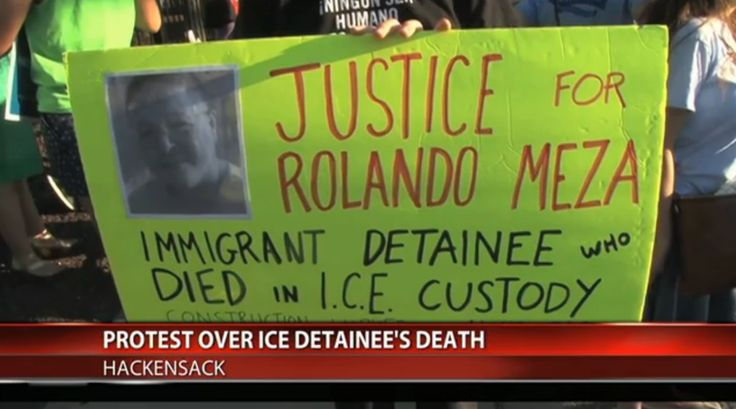 Anundocumented man who may have been mistakenly arrested by federal immigration agentsis the tenth immigrant to die while under ICE custody this fiscal year.    Rolando Meza Espinozawas arrested at workat the end of March and had been under...