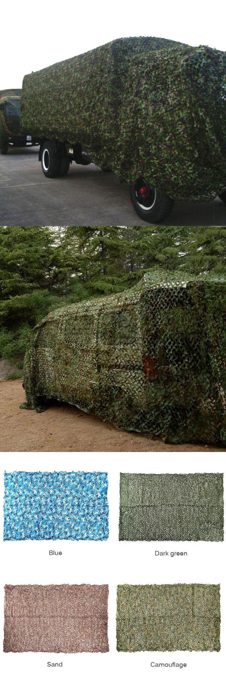 [Visit to Buy] Sun Shelter 2m*3m Hunting Military Camouflage Net Woodland Army Camo netting Camping Sun ShelterTent Shade Tactical accessories #Advertisement