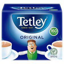 Tetley Softpack 160 Tea Bags 500g