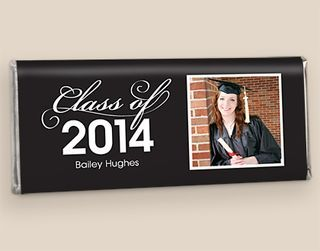 Personalized Chocolate Graduation Party Favors