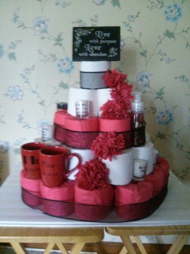 Toilet Paper Cake Images : Pin Toilet Paper Cake Fun House Warming Or Bridal Shoer ...