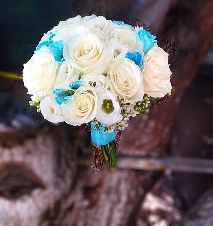 Buchete de mireasa senzationale, create de floristii premium Flori de Lux! Cele mai frumoase mirese, cele mai frumoase buchete de mireasa 2017!