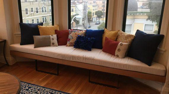 Trapezoid Cushion Custom Cushion Bay Window Seat