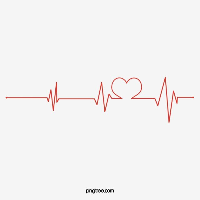Red Heart Line Chart Heartbeat Clipart Public Welfare Png Transparent Clipart Image And Psd File For Free Download Heart Illustration Red Heart Line Background