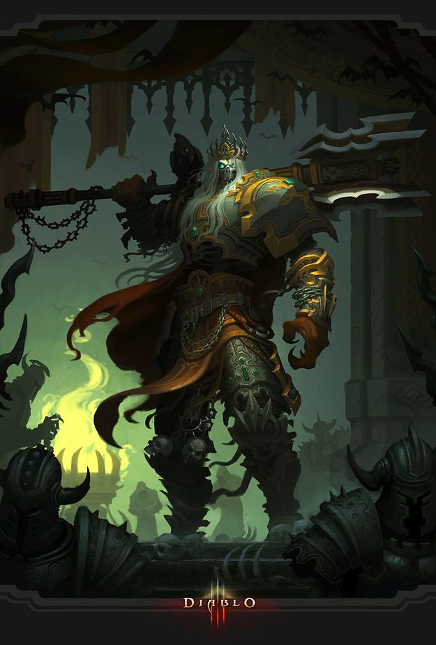 King Leoric | 23 Awesome Works Of Diablo 3 Fanart You Need To See