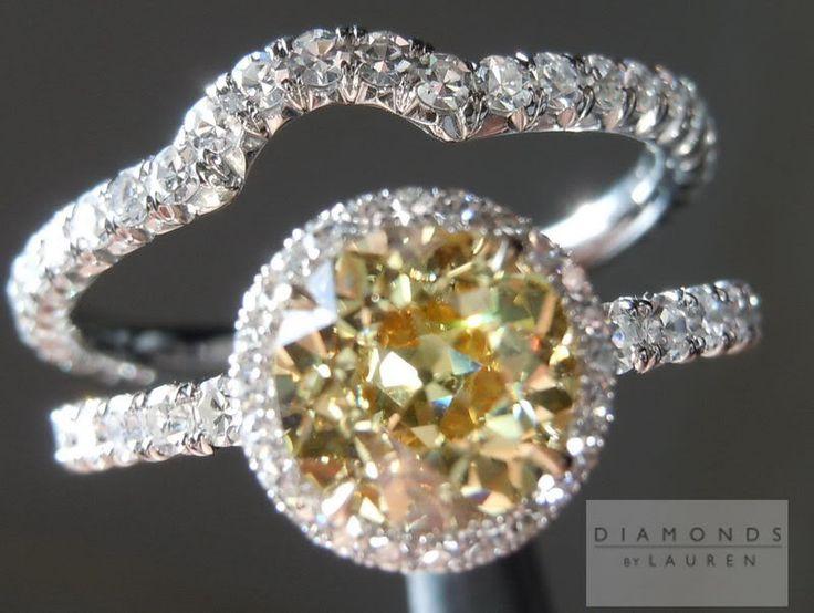 Fresh custom wedding rings Other stones other than diamonds halo of diamonds