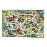 Found it at Wayfair - Fun Time Country Road Kids Rug