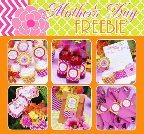 FREE Mother's Day Printables from Amanda's Parties to GoPrintables Sets, Gift Ideas, Mothers Day Ideas, Cupcakes Toppers, Parties Stuff, Mother'S Day Printables, Holiday Crafts, Mothers Day Printables, Free Printables