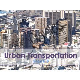 Grade 8 – Urban Transportation | Download on www.onniesonline.co.za