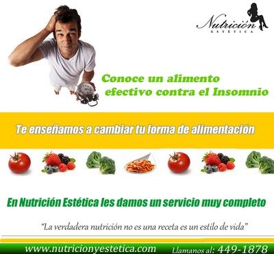 Conoce un alimento efectivo contra el insomnio. NUTRICIÓN ESTÉTICA http://nutricionylaestetica.blogspot.com/2012/07/conoce-un-alimento-efectivo-contra-el.html?spref=tw