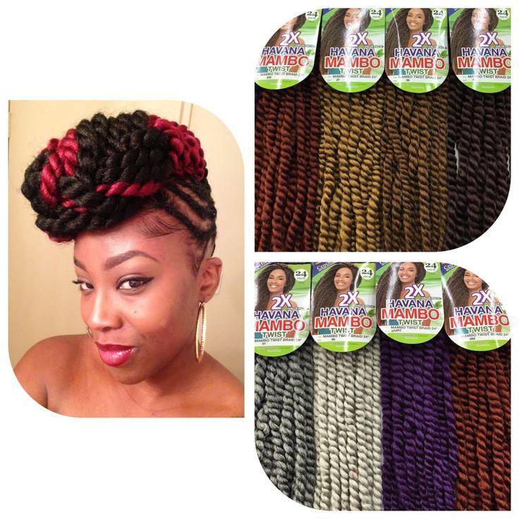 Twist Pompadour With Havanna Mambo Hair [Video] - http://community.blackhairinformation.com/video-gallery/braids-and-twists-videos/twist-pompadour-with-havanna-mambo-hair-video/